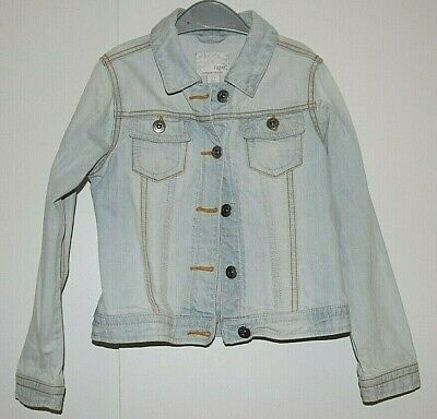 Next Girls Summer Denim Jacket Age 7- 8 Years