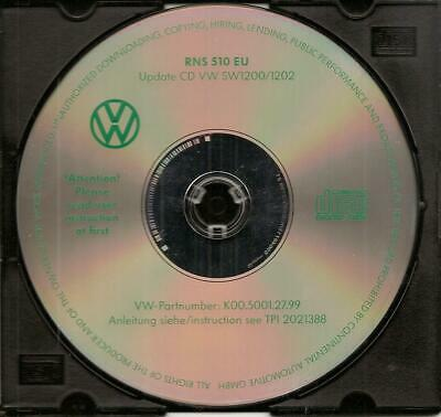 VW RNS510 EU Firmware Update CD Original 1200/1202