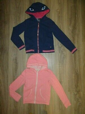 Girls 2x H&M/ Pepperts by Heidi Klum hoodies/ jacket/ coat/ top size 8-10 years