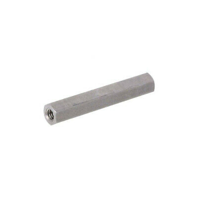 10X 149X60 Screwed spacer sleeve Int.thread: M6 60mm hexagonal DREMEC