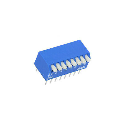 EPS108AZ Switch: DIP-SWITCH Poles number: 8 OFF-ON 0.025A/24VDC Pos: 2 ECE