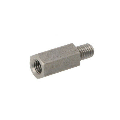 10X 248X15 Screwed spacer sleeve Int.thread: M5 15mm Ext.thread: M5 DREMEC