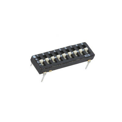 ETA109EZ Switch: DIP-SWITCH Poles number: 9 OFF-ON 0.025A/24VDC Pos: 2 ECE