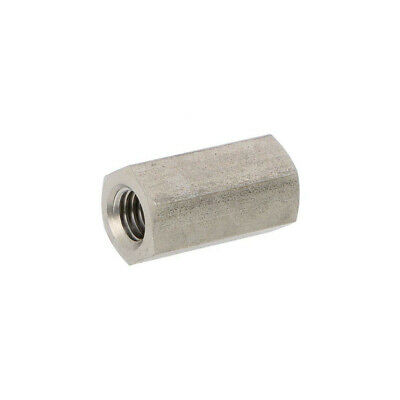 10X 1413X25 Screwed spacer sleeve Int.thread: M8 25mm hexagonal DREMEC