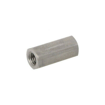 10X 1413X30 Screwed spacer sleeve Int.thread: M8 30mm hexagonal DREMEC