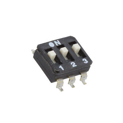 2X ESD103EZ Switch: DIP-SWITCH Poles number: 3 OFF-ON 0.025A/24VDC Pos: 2 ECE