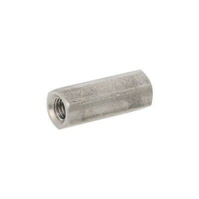 10X 1413X35 Screwed spacer sleeve Int.thread: M8 35mm hexagonal DREMEC