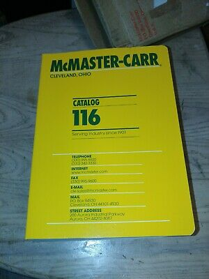 McMaster Carr Supply Catalog 104