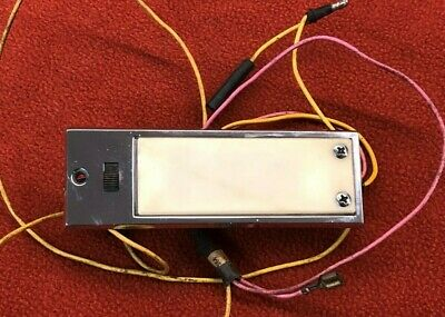Charger Gtx Road Runner Coronet B Body 1968 70  Map Lamp Light Wiring  Tested