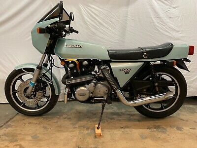 1978 Kawasaki Z1000 Z1R  1978 Kawasaki Z1000 Z1R Turbo rare classic collectors item low miles superbike