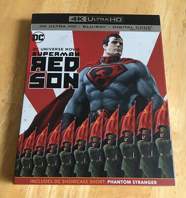 Superman: Red Son (4K Ultra HD and Blu-ray) With Slipcover DC Universe
