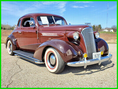 1937 Chevrolet Master Deluxe 37 Chevy Master DeLuxe Coupe Street Rod 350 V8 Auto 1937 Chevrolet Master DeLuxe Coupe Street Rod 350ci V8 Auto Steel Body Real 37