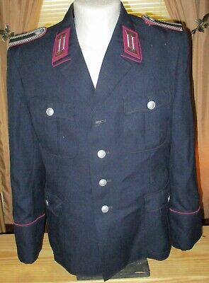 East German Police Tunic And Trousers