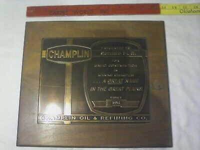 CHAMPLIN OIL&REFINING CO. Sign