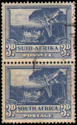 South Africa #57 Used vertical pair