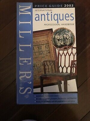 MILLERS INTERNATIONAL ANTIQUES PROFESSIONAL HANDBOOK PRICE GUIDE 2002 Hard Cover