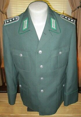 East German Vopo Police Tunic And Trousers