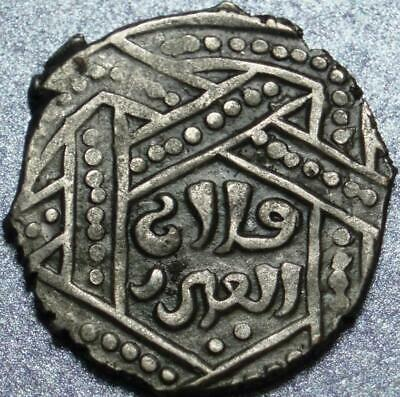 "1256-1282 AD Ilkhans MONGOL Anonymous SILVER ""DIRHAM"" Time of HULAGU & Son ABAQA"