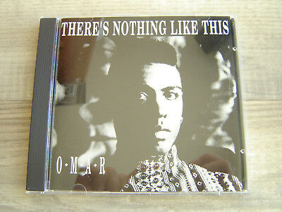 OMAR Theres Nothing Like This CD *1ST PRESS*  soul neo brit acid jazz funk r&b
