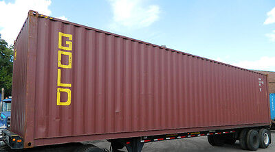 40 High Cube Steel Cargo Shipping Storage Container New Jersey NJ New York NY PA