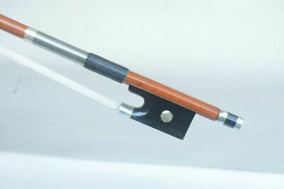 Master performance !Silver mounted!A Best Genuine Pernambuco Violin Bow ! 62.2G