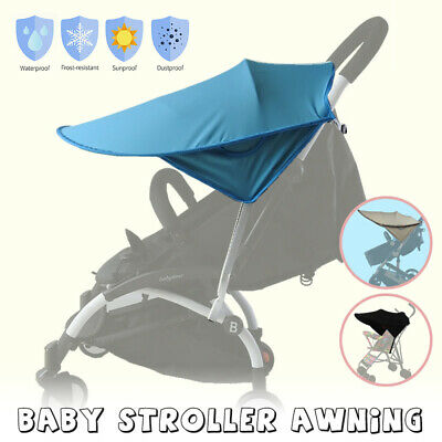 Universal Baby Child Pushchair Stroller Pram Buggy Sun Shade Canopy Cover Foldab