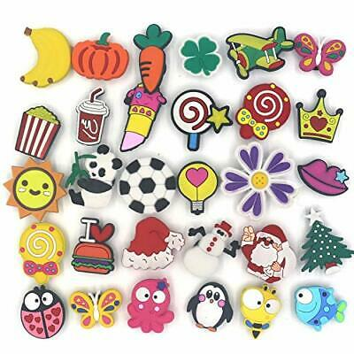 30 Mixed Pvc Shoecharm Lot Different Shoe Charms For Croc And Jibbitz Wristband