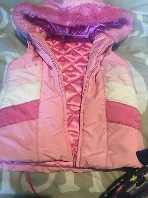 Girls Zip Up Bodywarmer Age 3-4