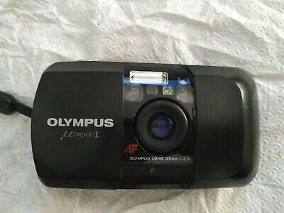 OLYMPUS mju i (infinity StYLUS)35mm POINT AND SHOOT FILM CAMERA lens 3.5 woow