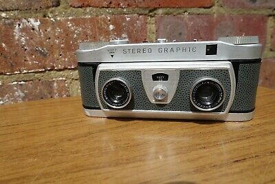 Wray London Stereo Graphic Camera - Spares Repair