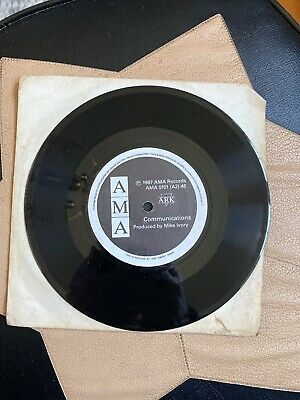 """Ark - Communications /Home for the summer 7"""" 1987 Private vinyl"""