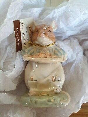 2002 Royal Doulton Bramly Hedge Hand Made & Painted Figure - Dusty's Buns