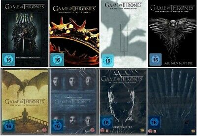 Game of Thrones Staffel 1-8 DVD Set Die komplette Serie NEU OVP Staffel 1 bis 8