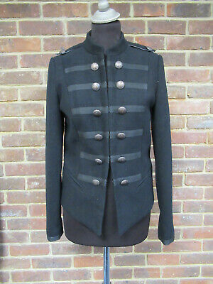 Storm By Monsoon Girls Navy Blue Military Style Jacket 15 Years BNWT