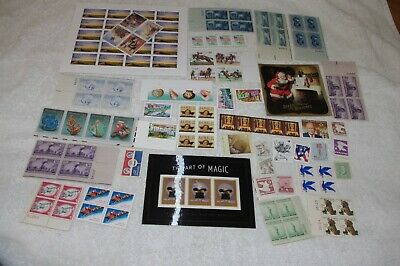 Lot Of Unused MNH US Postage 100 Stamps With Some Forever Face Value FV $27+