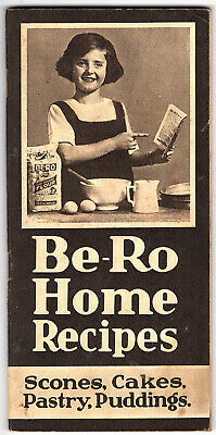 """""""Be-Ro Home Recipes"""" 16th edition soft cover booklet + 4 page supplement"""