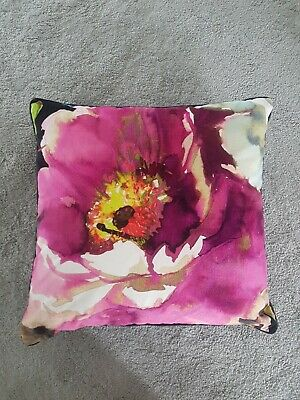 Pink And Black Cushion Cover 52cmx52cm