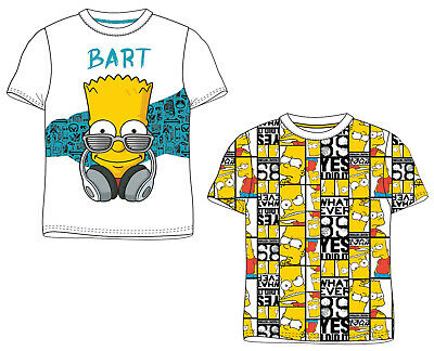 Boys Bart Simpson T Shirt