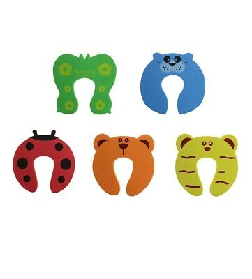 5Pcs/Lot Protection Baby Safety Cute Animal Security Door Stopper Newborn Care
