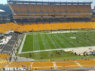2 Tickets Pittsburgh Steelers vs New Orleans Saints Section 507 row Z