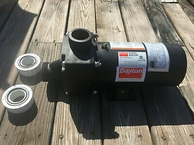 DAYTON Jet Tub Pump,1 HP,3450,115/230V, 5PXF9