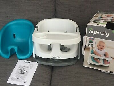 🌸 Ingenuity 🌸 Rehausseur / Siege D'appoint Baby Base 2-In-1 🌸 Impeccable 🌸