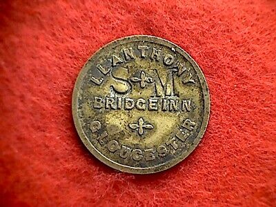 Bridge Inn Gloucester 2-1/2d Pub Token