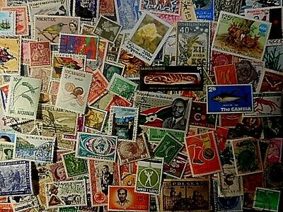 Lot of 203 WORLDWIDE STAMPS , USED UNHINGED, LH,MLH MNH