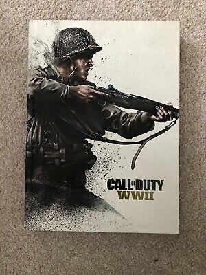 Call of Duty: WWII Collector's Edition Guide - Hardback Book World War 2 RARE