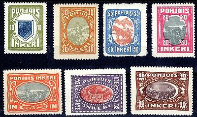 (A-1161) North Ingermanland 1920 full set MNH sold-as-is