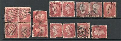 PENNY RED PLATES used in IRELAND