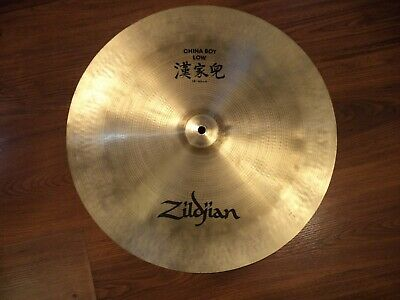 "Avedis Zildjian China Boy Low 18"" Crash Cymbal Pre Serial Excellent SEE VIDEO"
