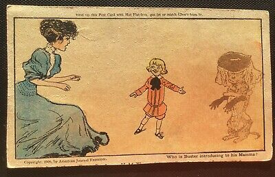 Vintage Comic Postcard - Publ by American Journal Examiner 1906