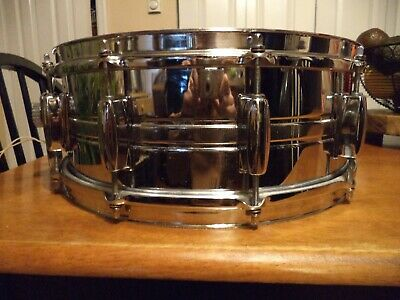 Pearl Stencil Snare Drum MIJ Made In Japan 10 Lug 5.5 x 14